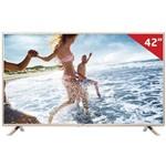 """Smart Tv Led 42"""" 42lf5850 Lg, Full HD Hdmi e Wi-Fi Integrado"""