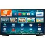 Smart TV LED 40'' Full HD Samsung LH40 2 HDMI 1 USB Wi-Fi