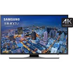 "Smart TV LED 60"" Samsung UN60JU6500GXZD Ultra HD 4K com Conversor Digital 4 HDMI 3 USB Wi-Fi Integrado 240Hz CMR"