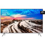 "Smart TV LED 75"" Samsung 75MU7000 Ultra HD 4k com Conversor Digital 4 HDMI 3 USB Wi-Fi Controle Remoto Único Borda Infinita One Connect 120Hz"