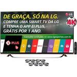 """Smart TV LED 3D 65"""" LG 65UF8500 Ultra HD 4K com Conversor Digital Integrado 3 HDMI 3 USB Wi-Fi 4 Óculos 3D 1 Dual Play 120Hz"""