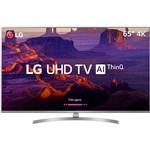 "Smart TV LED LG 65"" 65UK7500 Ultra HD 4k com Conversor Digital 4 HDMI 2 USB Wi-Fi Webos 4.0 Sound Sync 60Hz - Prata"