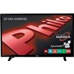 "Smart TV LED 32"" Philco PH32E20DSGWA HD com Conversor Digital 2 USB 2 HDMI Wi-Fi Android - Preta"