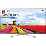"Smart TV LG WebOS 3.5 LED 55"" SUPER ULTRA HD 55SJ8000 Sistema de Som Ultra Surround Hdmi 4 Usb 3"