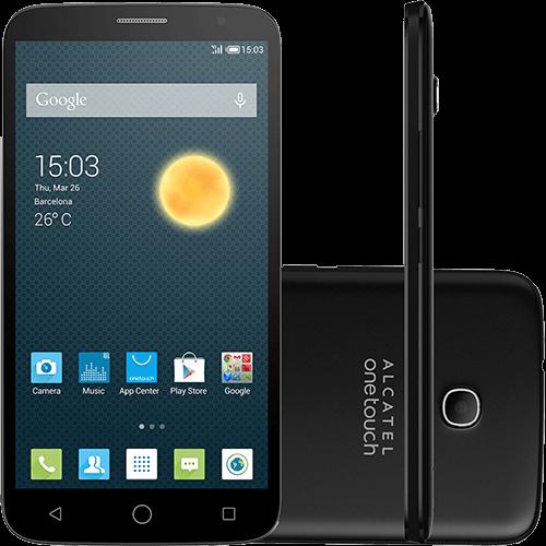 "Smartphone Alcatel Hero 2C Desbloqueado Android 4.4 Tela 6"" 16GB 4G Wi-Fi Câmera 13MP Cinza Chumbo"