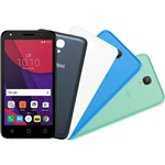 "Smartphone Alcatel Pixi 4 Colors Android 6.0 Tela 5"" Quad Core 8GB 4G Câmera 8MP e Tv Digital - Preto"
