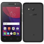 "Smartphone Alcatel Pixi4 4"" Dual Chip, Preto, Tela 4"", 3g+wifi, Android 6, 8mp, 8gb"
