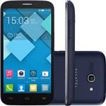 "Smartphone Alcatel Pop C9 Dual Chip Desbloqueado Claro Android 4.2 5.5"" 4GB 3G 8MP 1.3GHz - Cinza"