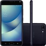 Smartphone Asus Zenfone 4 Max Dual Chip Android 7 Tela 5.5 16gb 4g Wi-Fi Câmera Dual Traseira 13 + 5mp - Preto