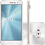 "Smartphone Asus Zenfone 3 Dual Chip Android 6.0 Tela 5.2"" Snapdragon 16GB 4G Câmera 16MP - Branco"