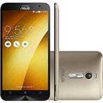 "Smartphone Asus Zenfone 2 Dual Chip Desbloqueado Android 5.0 Lollipop Tela 5.5"" 16GB 4G Wi-Fi Câmera 13MP - Gold"