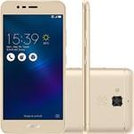 """Smartphone Asus Zenfone 3 Max Dual Chip Android 6 Tela 5.2"""" 16GB 4G Câmera 13MP - Dourado"""