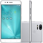 "Smartphone Asus Zenfone 3 Zoom Dual Chip Android 6.0 Tela 5,5"" Qualcomm Snapdragon 8953 64GB 4G Câmera 12MP Dual Cam - Prata"