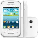 Smartphone Dual Chip Samsung Galaxy Pocket Plus Duos Branco Android - Câmera 2MP Wi Fi GPS