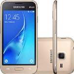 Smartphone Galaxy J1 Mini Dual Android 5.1 Tela 4 8GB Quad Core 1.2 - Dourado Vivo