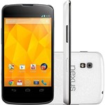 Smartphone Google Nexus 4 Branco 16GB - Desbloqueado Android 4.2 3G Wi-Fi Câmera 8.0MP GPS