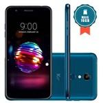 """Smartphone LG K11+ 32GB Tela 5.3"""" Câmera 13MP Azul + Cartão SD 16GB"""