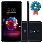 """Smartphone LG K11+ 32GB Tela 5.3"""" Câmera 13MP Preto + Cartão SD 16GB"""