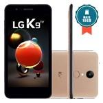 Smartphone LG K9 TV 16GB Dourado + Cartão SD 16GB