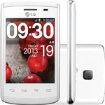 "Smartphone LG L20 D100 Desbloqueado Vivo Android 4.4 Tela 3"" 4GB 3G Wi-Fi Câmera 2MP - Grafite"