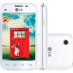 "Smartphone LG L40 D180 TV Tri Chip Desbloqueado Android 4.4 Tela 3.5"" 4GB 3G Wi-Fi Câmera 3MP TV Digital - Branco"