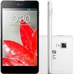 "Smartphone LG OpTimus G Desbloqueado Android 4.1 Tela 4.7"" 32GB 4G Wi-Fi Câmera 13MP - Branco"