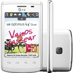 Smartphone LG Optimus L1 II Dual Chip Desbloqueado Tim Branco Android 4.1 Câmera 2MP 3G Wi Fi 4GB