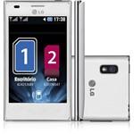 "Smartphone LG OpTimus L5 Dual Chip Desbloqueado Oi Android 4.0 Tela 4"" 4GB 3G Wi-Fi Câmera 5MP - Branco"