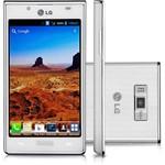 """Smartphone LG Optimus L7 P705 Desbloqueado Oi Branco GSM Android ICS 4.0 Processador 1GHz Tela 4.3"""" Câmera 5MP 3G Wi-Fi Memória Interna 4GB"""