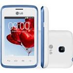 "Smartphone LG Triple L20 D107 Android 4.4 Tela 3"" 4GB 3G Wi-Fi Câmera 2MP - Branco"