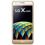 """Smartphone LG X Cam K580DSZ Dual SIM 16GB de 5.2"""" 13+5MP/8MP OS 6.0 - Dourado"""
