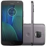 "Smartphone Moto G5S Plus XT1805 Motorola Dual SIM 32GB Tela 5.5"" Dupla Camera Traseira 13MP/8MP- Grafite"