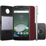 "Smartphone Moto Z Play Projector Edition Dual Chip Android 6.0 Tela 5.5"" 32GB Câmera 16MP - Preto"