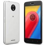 Smartphone Motorola Moto C Xt1750,tela 5.0, Dual Sim,8gb, 5mp/2mp - Branco