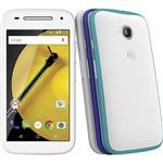 """Smartphone Motorola Moto e (2ª Geração) Colors Dual Chip Desbloqueado Android Lollipop 5.0 Tela 4.5"""" 16GB Wi-Fi Câmera de 5MP Branco"""