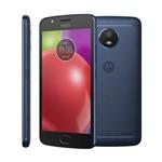 Smartphone Motorola Moto E4, 5¿, 16gb, Android 7, 4g, Quad Core, Câmera 8 Mp, Azul - Desbloqueado