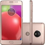 "Smartphone Motorola Moto E4 Dual Chip Android 7.1 Tela 5"" Quad-Core 16GB 4G Wi-Fi Câmera 8MP - Ouro Rosê"