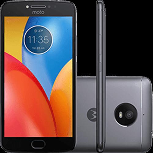 "Smartphone Motorola Moto E4 Plus Dual Chip Android 7.1.1 Nougat Tela 5,5"" Quad-Core 1.3GHz 16GB 4G Câmera 13MP - Titanium"