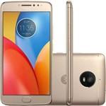 """Smartphone Motorola Moto E4 Plus XT1771 Dual Sim 16GB 5.5"""" 13MP os 7.1 - Dourado"""