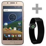 "Smartphone Motorola Moto G5 XT1676 Dual Sim 16GB Tela 5.0"" 13MP/5MP os 7.0 - Dourado"