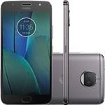 Smartphone Motorola Moto G5s, Platinum + Película de Vidro Motorola + Capa Protetora Transparente