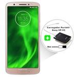 Smartphone Motorola Moto G6 64GB - Ouro Rose + Carregador Portátil
