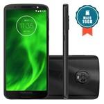"""Smartphone Motorola Moto G6 64GB Tela 5.7"""" Preto + Cartão SD 16GB"""