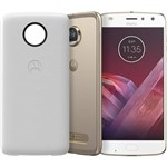 "Smartphone Motorola Moto Z2 Play - Power Edition Dual Chip Android 7.1.1 Nougat Tela 5,5"" Octa-Core 2.2 GHz 64GB Câmera 12MP - Ouro"
