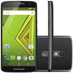 Smartphone Motorola Xt1563 Android 4G Câmera 21 MP 16GB Processador Octa-core - Preto