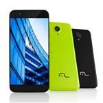 Smartphone MS50 4G Câmera 8 MP + 5 MP Quad Core 1GB Ram Preto Multilaser - NB236