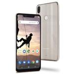 "Smartphone Multilaser MS80X 4G Android 8.1 Qualcomm 4GB RAM e 64GB Tela 6,2""HD Câm Traseira 12MP+5MP Cam Frontal 16MP Dourado - NB744"