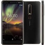 Smartphone Nokia 6.1 Dual Android 8.1 Tela 5.5 32GB 16MP - Preto