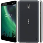 Smartphone Nokia 2 Dual Chip Android 7.1 Tela 5.0 8GB Camera 8MP Bateria 4100mah - Preto
