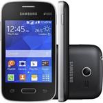 Smartphone Samsung G110B Galaxy Pocket II Duos, 3G Android 4.4 4GB Câmera 2MP Tela 3,3¿, Preto